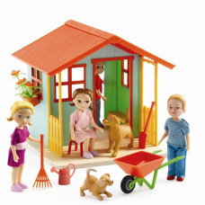 Djeco - Petit Home - Dukkehus møbler - Legehus