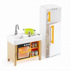 Djeco - Petit Home - Dukkehus møbler - The køkken