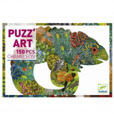 Djeco - Puzz'art - Puslespil - 150 brikker - Kamæleon