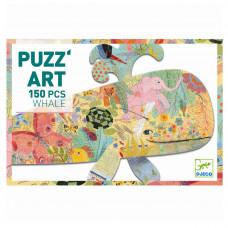 Djeco - Puzz'art - Puslespil - 150 brikker - Hval