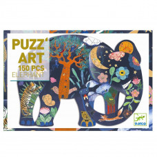 Djeco - Puzz'art - Puslespil - 150 brikker - Elefant