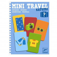 Djeco - Mini Travel - Katupri Memory