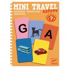 Djeco - Mini spil/Rejsespil - Mini Travel - Katuvu Observation