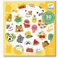 Djeco - Klistermærker - Emoji