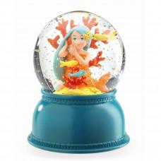 Djeco - Snekugle med lys og glimmer - Havfrue