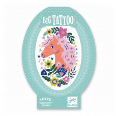 Djeco - Stor tatovering - Hest