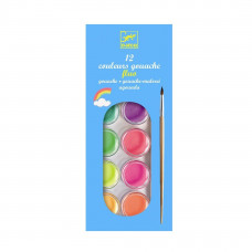 Djeco - Farvelade - 12 neon farver