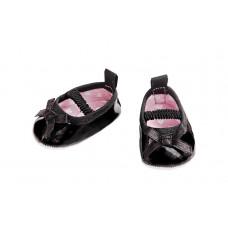 Dukke tilbehør - Dukke ballerina sko - Sort