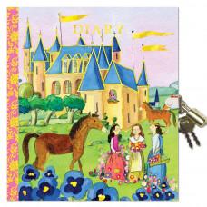 eeBoo - Dagbog med lås - Prinsesser