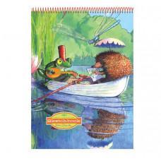 eeBoo - Tegneblok - Frøen og pindsvinet på bådtur