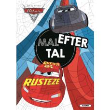 Biler - Mal efter tal -  male/opgavebog