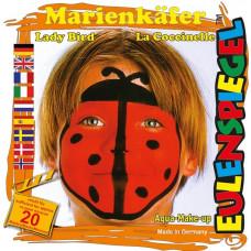 Eulenspiegel - Ansigtsmaling - Sminke palette - Mariehøne