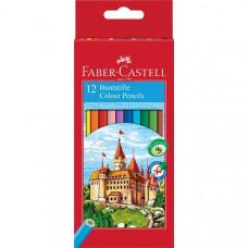 Faber-Castell - Farveblyanter - Slot hexagonal 12 stk. (Fåes også med navn)