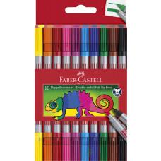 Faber-Castell - Dobbelt Tusser - 10 stk