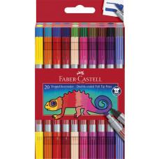 Faber-Castell - Dobbelt Tusser - 20 stk