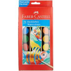 Faber-Castell - Farvelade - 21 farver