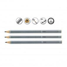 Faber-Castell - Jumbo blyanter grip - 3 stk - (Fåes også med navn)