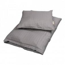 Filibabba - Baby sengetøj - Muslin - Grey