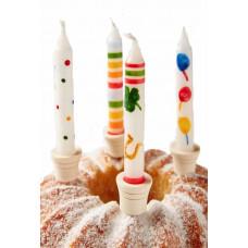 Lyseholder til fødselsdagslys og kagelys
