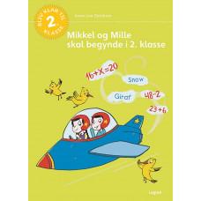Forlaget Legind - Opgavebog - Mikkel og Mille skal begynde i 2. klasse