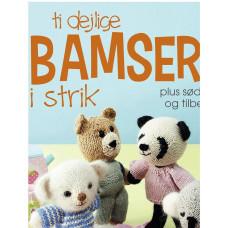 Turbine - Strikkebog - Ti dejlige bamser i strik