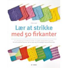Turbine - Strikkebog - Lær at strikke med 50 firkanter