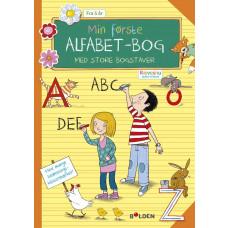 Forlaget Bolden - Opgavebog - Min første alfabetbog