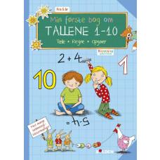Forlaget Bolden - Opgavebog - Min første bog om tallene 1-10