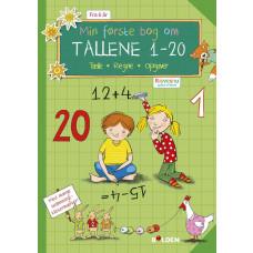 Forlaget Bolden - Opgavebog - Min første bog om tallene 1-20