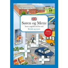 Forlaget Carlsen - Opgavebog - Søren Og Mette Lærer Engelsk - Kryds og tværs