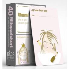 Kids by Friis - Milepælskort - Milestone kort - Prinsesse