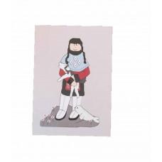 Kids by Friis - Lykønskningskort - Fødselsdagskort - Grønlandsk pige