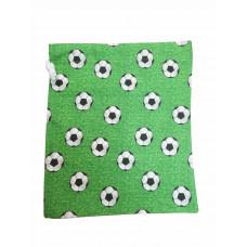 Frugtpose - Grøn med fodbolde