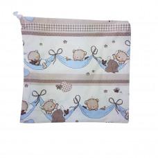 Frugtpose - Lyseblå bamser