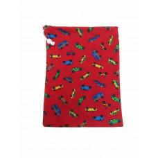 Frugtpose - Rød med biler