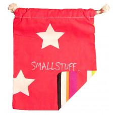 Smallstuff - Frugtpose  - Rød Med Stjerner