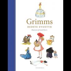 Brødrene Grimm - Personlig børnebog - Grimms bedste eventyr - Forlaget Gyldendal