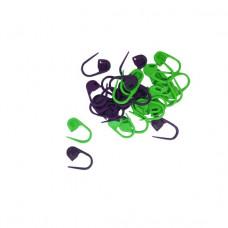 KnitPro Maskemarkører - med lås 30 stk.