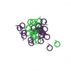 KnitPro Maskemarkører - Split ring 30 stk.