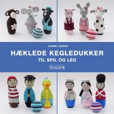 Klematis - Hæklebog - Hæklede kegledukker til spil og leg - Hanne Larsen