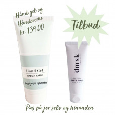 Made in Varde - Alkoholbaseret hånddesinfektion gel 120 ml & Peel'n heal håndcreme 75 ml