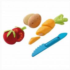 HABA - Legemad i stof - Blandede grøntsager