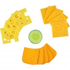 HABA - Legemad i stof - Skiveskåret ost