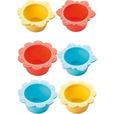 HABA - Silikone Muffinsform  - Blomst 6 stk.