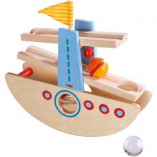 HABA - Kullerbü kuglebane - Gyngende båd