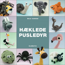 Klematis - Hæklebog - Hæklede Pusledyr - Maja Hansen