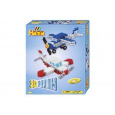 Hama - Midi - Gaveæske - 3D Planes