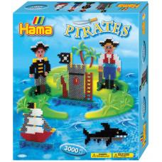 Hama - Midi - Gaveæske - Pirater