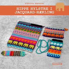 Klematis - Hippe hylstre i jacquard - hækling - Birgitte Breuning