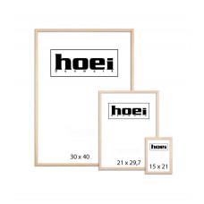 Hoei - Ramme 29,7 x 42 cm - Natur eg